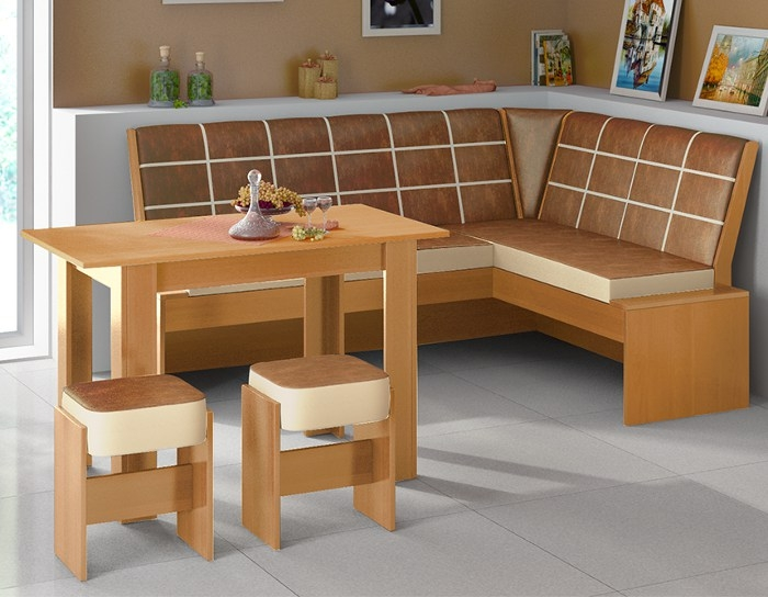 Кухонные уголки для кухни своими руками